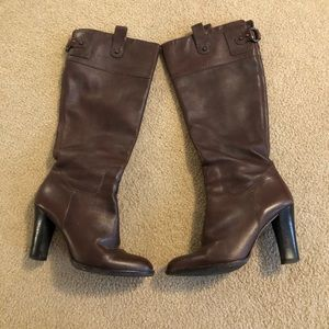 Banana republic below the knee boots size 7